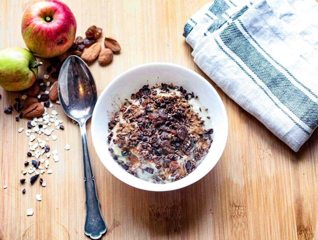 Apfel Porridge