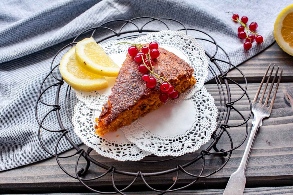Karotten Mandel Kuchen